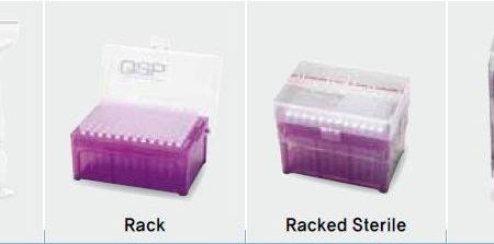 QSP packaging for std tips dan low retention